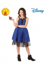 Child Deluxe EVIE DESCENDANTS Isle Disney Costume Girls Fancy Dress Book Week Outfit