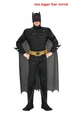 Adult Dark Knight Rises Deluxe Batman Halloween Costume