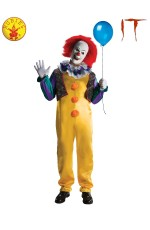 PENNYWISE DELUXE COSTUME, ADULT