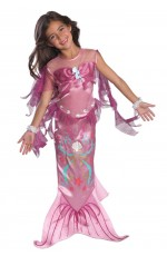 Mermaid Costumes - Pink Magical Mermaid Toddler Child Costume Fancy Dress Mermaid Princess Ariel Book Week Fancy Dress Child Costume