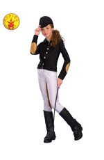 EQUESTRIAN RIDER COSTUME CHILD WITH WHIP
