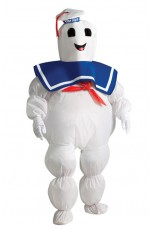 Kids Inflatable Stay Puft Marshmallow Costume