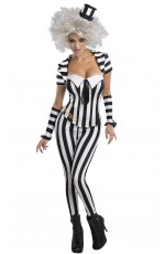 Mrs Beetlejuice Halloween Licensed Costume