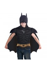 Batman Superhero Dark Knight Halloween Cosplay Kids Child Outfit Boys Fancy Costume