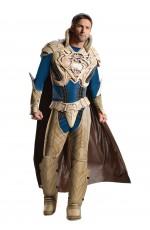 Mens Superman Jor EL Man of Steel Deluxe Costume