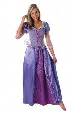 Disney Tangled Rapunzel Princess Fairytale Book Week Fancy Dress Party Adult Costume