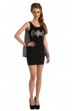 Batgirl & Batman Costumes - Ladies Halloween Rubie's Gotham Batgirl Bat girl Fancy Dress Costume Outfits