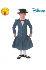 Costume Girls Disney English Nanny Maid Victorian Book Week Mary Poppins