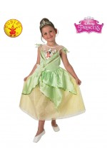 Kids Tiana Shimmer Deluxe Costume