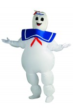 Inflatable Adult Stay Puft Marshmallow Man Fancy Dress Costume