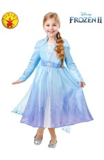 ELSA FROZEN 2 DELUXE COSTUME, CHILD