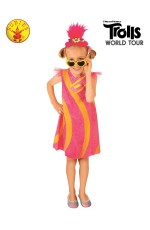 POPPY DELUXE TROLLS 2 POP COSTUME CHILD