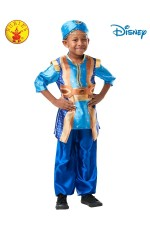 Children Genie Aladdin Disney Live Action Halloween Fairytale Child Costume