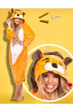 Lion Onesie Animal Costume