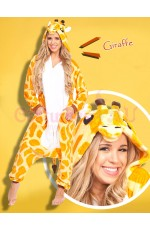Giraffe Onesie Animal Costume