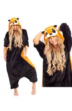 Onesies & Animal Costumes Australia - Raccoon Onesie Animal Costume