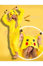 Pikachu Onesie Animal Costume