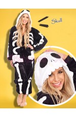 Skull Onesie Animal Costume