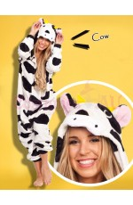 Cow Onesie Animal Costume