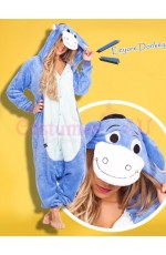 Eeyore Donkey Onesie Animal Costume