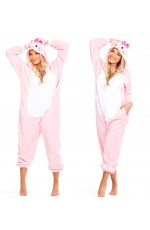 Onesies & Animal Costumes Australia - Pink Hello Kitty Onesie Animal Costume