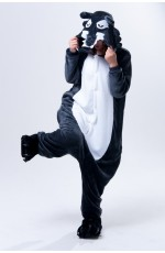 Dark Wolf Onesie Animal Costume
