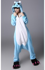 Hippo Onesie Animal Costume