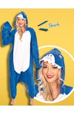 Shark Onesie Animal Costume
