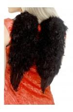 Feather Black Angel Wings Angel Fairy Adults Fancy Dress Costume Halloween
