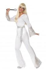60s, 70s Costumes Australia - Licensed 1970s 70s 1960s 60s Pop Abba Tribute Retro Outfits Go Go Retro Hippie Girl Disco Dancing Groovy Party Halloween Costume