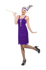 Licensed 1920s 20s Laides Jazz Flapper Great Gatsby Chicago Fancy Dress Up Costume Party
