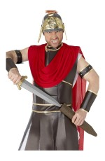Roman Warrior Sword 65cm Medieval Times Gladiator Costume Outfit Weapon Accessories