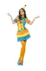 Colourful Clown Cutie Circus Costume