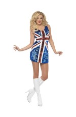 Girls Fever All that Glitters Rule Britannia Costume