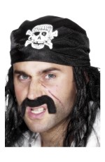 Black Pirate Bandanna cs25590
