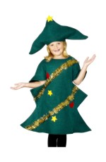 Kids Christmas Tree Costume, Bodysuit