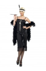 Licensed 1920s 20s Laides Gatsby Charleston Flapper Chicago Jazz Fancy Dress Up Costume Party