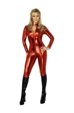 Fever Miss Tress Costume Woman Dress Fancy Dress Catsuit