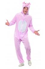 Unisex Pig Animal Onesie Adult Kigurumi Cosplay Costume Pyjamas