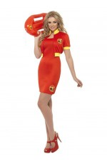 Licensed Ladies Baywatch Beach Lifeguard Uniform Smiffys Fancy Dress Costume Outfits