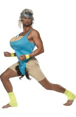Funny Lets Get Physical Gym Work Out Mens Funny Humour Party Fancy Dress Costume