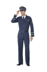 Mens High Flyer  WW2 Air Force Captain Costume