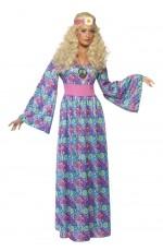 1960s 60s Female Flower Child Costume 70s Disco Retro Groovy Go Go Dance Party Costume