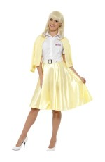 Adult Womens Good Sandy Costume Grease Licensed 1950s 50s Smiffys Fancy Dress Outfit