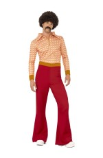 70s 1970s 1960s Authentic Guy Hippy Hippie Dance Disco Woodstock Retro Fancy Dress Up Costume