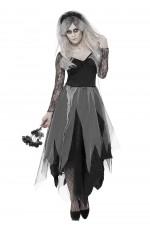 Zombie Graveyard Corpse Bride Womens Horror Halloween Costume