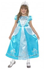Child Girls Rags to Riches Princess Costume Fancy Dress Costume Childrens Book Week
