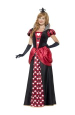 Adult Royal Red Queen of Hearts Alice Book Week Storybook Costume
