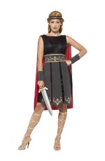 Ladies Greek Xena Roman Warrior Princess Gladiator Medieval Spartan Women Fancy Dress Up Hero Costume
