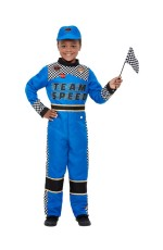 Kids Racing Car Driver Costume